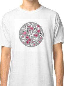Romantic floral pattern Classic T-Shirt