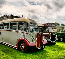 Half Cab Trio by David J Knight