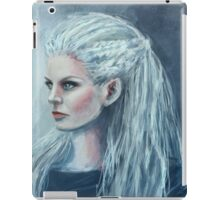 Dark Emma portrait iPad Case/Skin