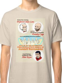 Attack of the Ginormous Presidential Stone Golems of Mount Rushmore Classic T-Shirt