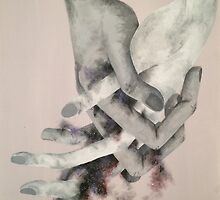 Clasped Hands by coralrose95