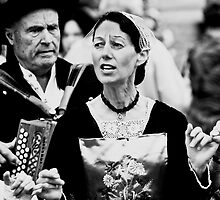 Dancing Lady - Rochefort en Terre, Brittany, France by Buckwhite