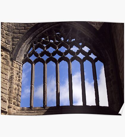 A Window Into Dunfermline Poster