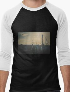 """""""There is a crack in everything. That's how the light gets in.""""  ~ Leonard Cohen Men's Baseball ¾ T-Shirt"""