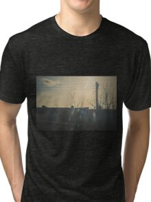 """""""There is a crack in everything. That's how the light gets in.""""  ~ Leonard Cohen Tri-blend T-Shirt"""