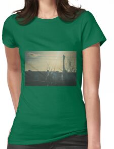"""""""There is a crack in everything. That's how the light gets in.""""  ~ Leonard Cohen Womens Fitted T-Shirt"""