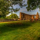 Dunfermline Abbey - The Ruin by Susan Dost