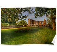 Dunfermline Abbey - The Ruin Poster