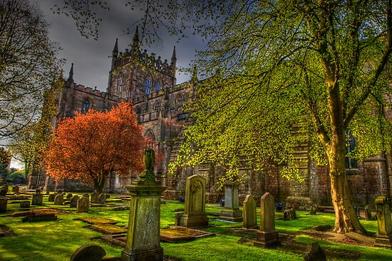 Dunfermline Abbey Scotland - Many Splendored Things by Susan Dost