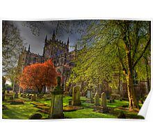 Dunfermline Abbey Scotland - Many Splendored Things Poster