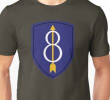 8th Infantry Division (United States - Historical) Unisex T-Shirt