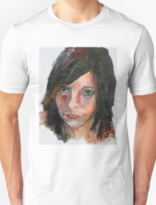 If We Had A Daughter acrylics on paper Unisex T-Shirt