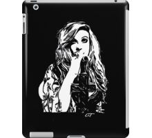 Mia Swier - Black & White iPad Case/Skin