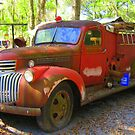 Firetruck from the Past by Debbie Robbins