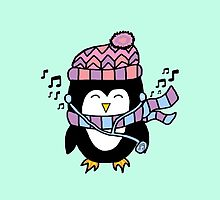 MUSIC PENGUIN by -hxrtsy