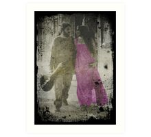 When they were young Art Print