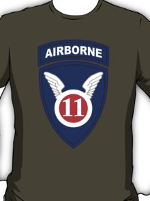 11th Airborne Division (United States - Historical) T-Shirt
