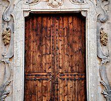 Chapel door, Santa Maria del Cami, Mallorca by Tigersoul