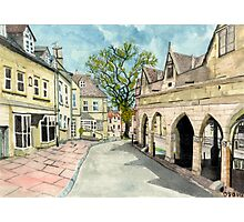 Chipping Camden Market Place Photographic Print