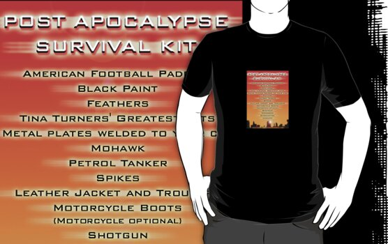 Post Appocalypse survival kit by MrDeath