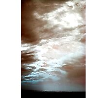 Divine Storm Photographic Print