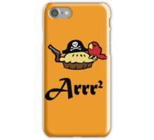 Pie Arrr Squared iPhone Case/Skin