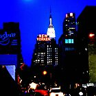 New York In Blue by Samantha Jones