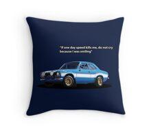 Blue Mexico Tribute Throw Pillow