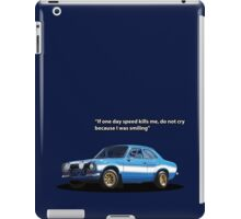 Blue Mexico Tribute iPad Case/Skin