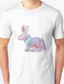 Disgruntled Rabbit Anatomy Unisex T-Shirt