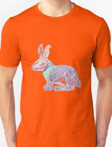 Disgruntled Rabbit Anatomy Unisex T-Shirt