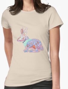Disgruntled Rabbit Anatomy Womens Fitted T-Shirt