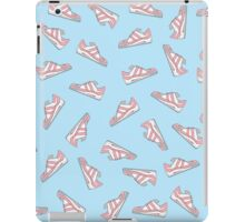 Pink and Blue Cute Sneakers Pattern iPad Case/Skin