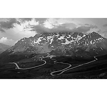 Col du Galibier, France Photographic Print