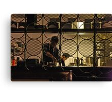 Kitchen Screen Canvas Print