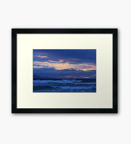 Ragged Dawn Framed Print