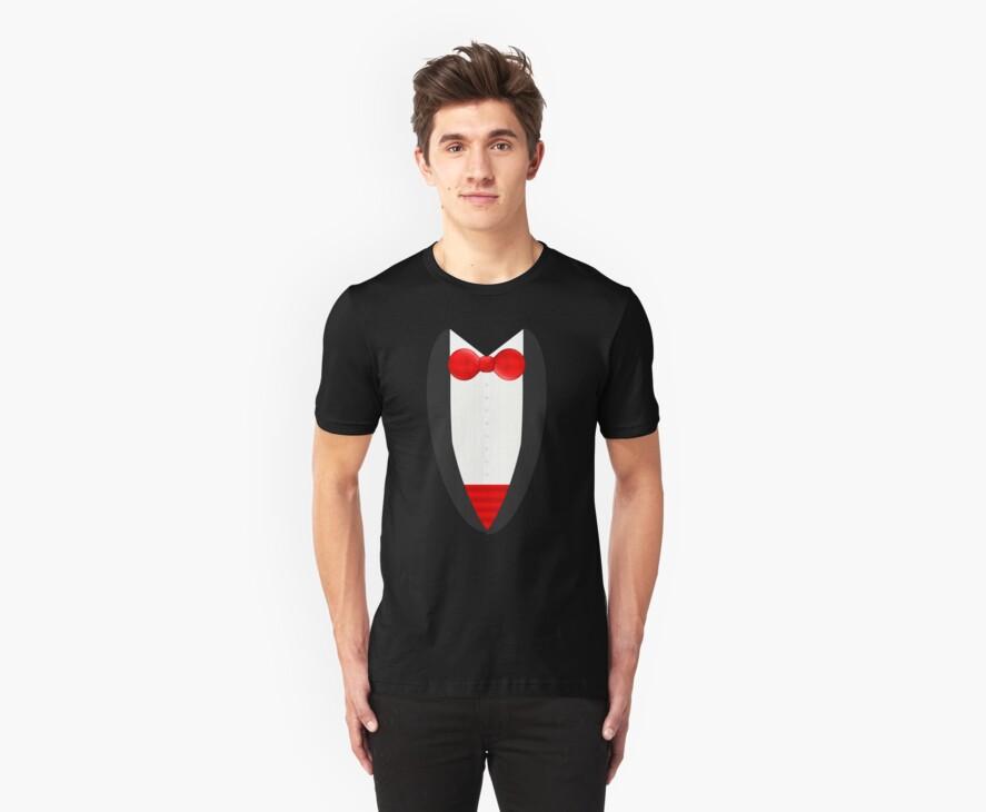 FormalFriday Tuxedo Shirt by DrunkTuxedo