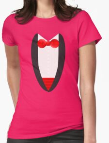 FormalFriday Tuxedo Shirt Womens Fitted T-Shirt