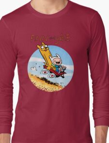 Finn and Jake Long Sleeve T-Shirt