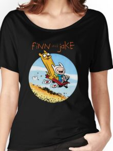 Finn and Jake Women's Relaxed Fit T-Shirt
