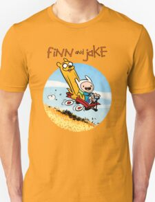 Finn and Jake Unisex T-Shirt