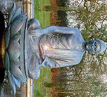 Buddha statue by romaro