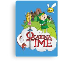 Adventure Time  Ocarina Time Canvas Print