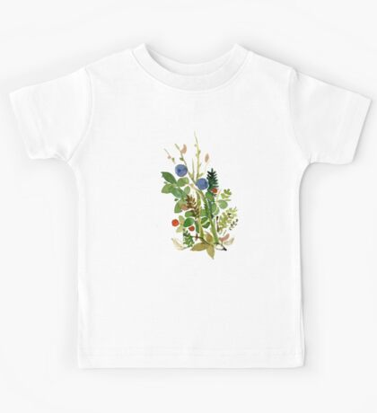 blueberry Kids Tee