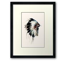 Headdress Framed Print