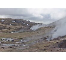 Mountain Steam #2 Photographic Print