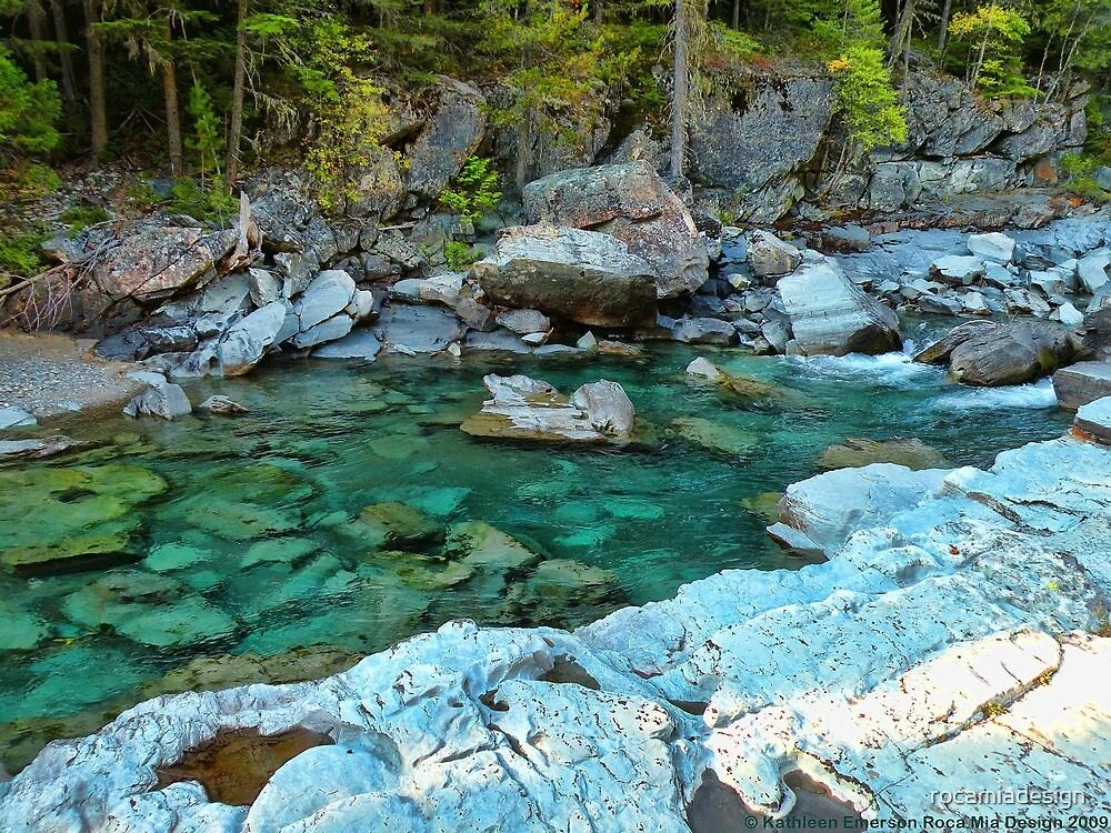 MacDonald Creek - Glacier National Park by rocamiadesign
