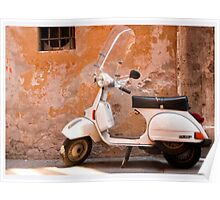 Iconic Vespa Poster