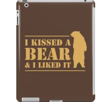 I Kissed A Bear And I Liked It Cool Hairy Grizzly iPad Case/Skin