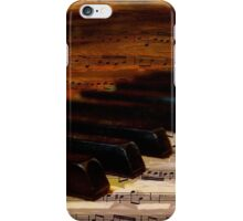Piano and music iPhone Case/Skin